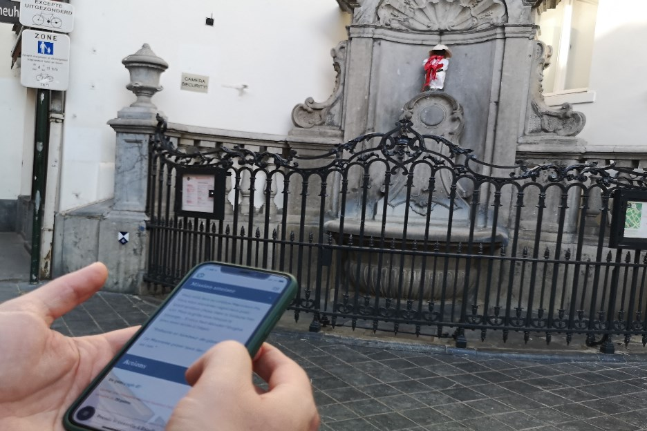 manneken pis game secret escape brussels
